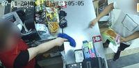 Kocak! Rampok Bersenjata Ini Kabur Karena Dibentak Kasir Mini Market
