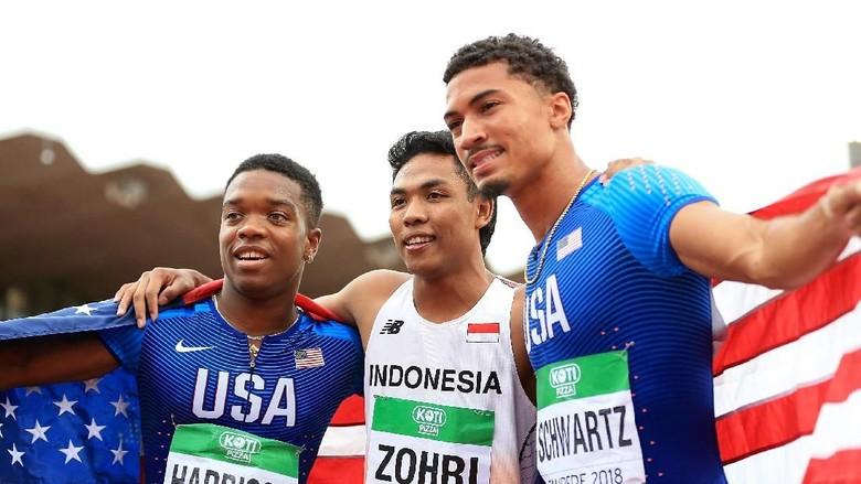 Lalu Muhammad Zohri, Sprinter Juara Dunia U-20 dari Keluarga Yatim Piatu