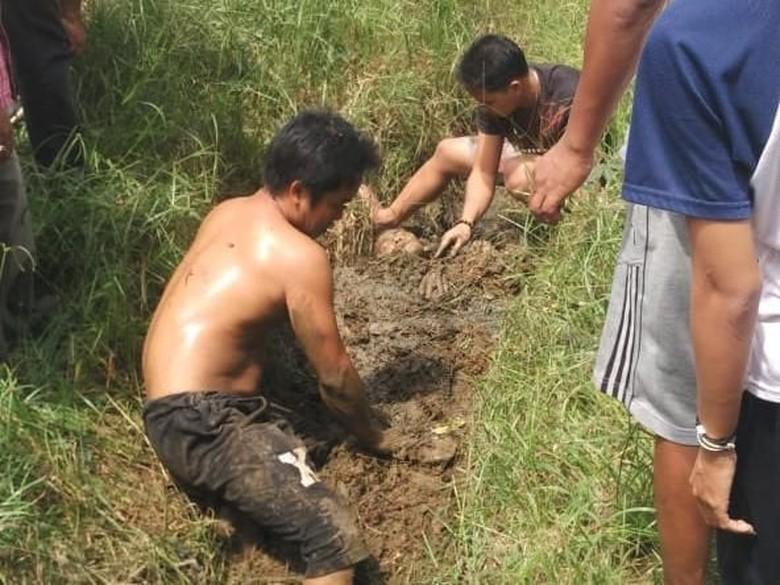Viral Pria Bangkit dari Kubur di Pontianak, Ini Faktanya