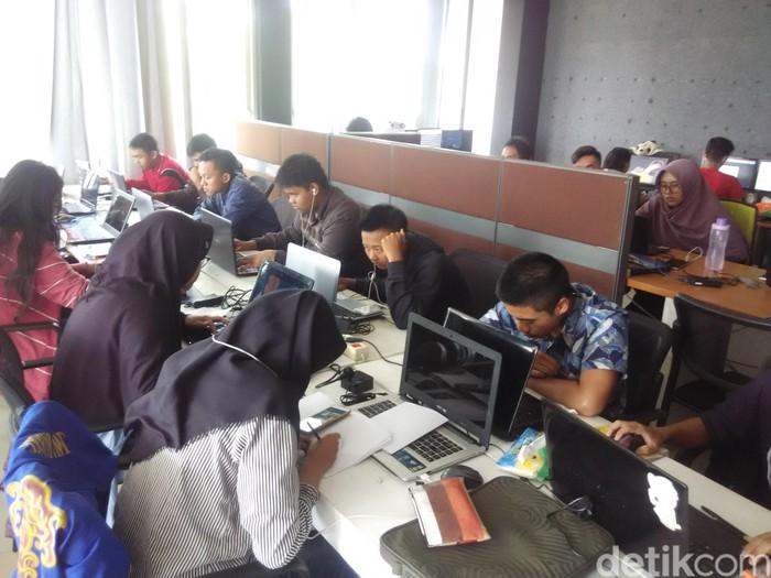 Suasana pelatihan di CCA. Foto: detikINET/Rachmadi Rasyad