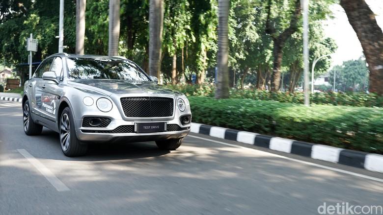 Bentley Bentayga. Foto: Bentley