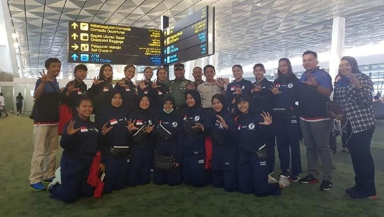 Matangkan Persiapan, Timnas Bola Tangan Putri TC di Vietnam