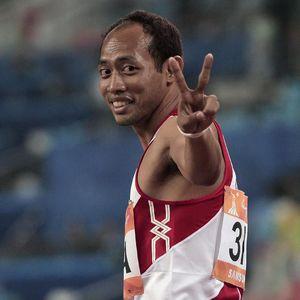 Manusia Tercepat Asia Tenggara Suryo Agung Rintis Sekolah Lari