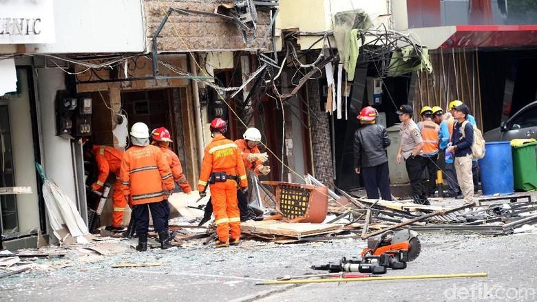 Polisi Selidiki Ledakan di Ruko Grand Wijaya
