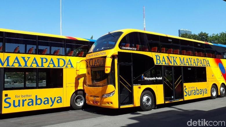 Bus Tingkat Baru Surabaya Siap Jadi Alternatif Transportasi Mahasiswa