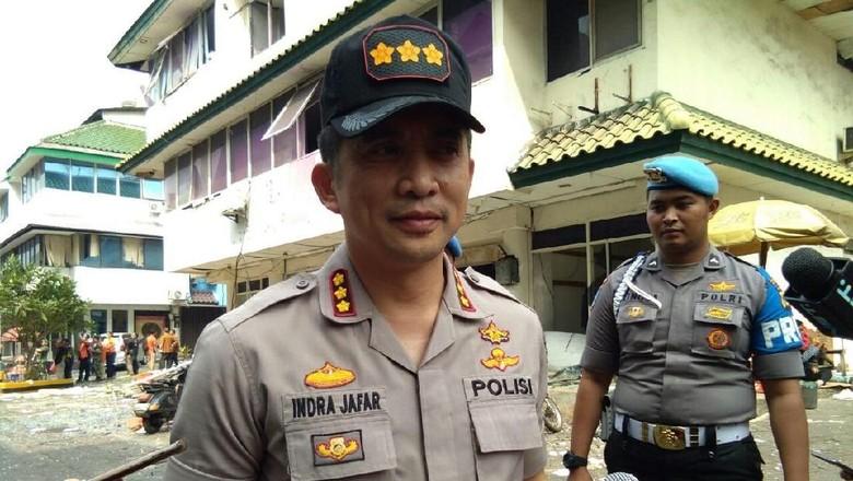 Total 11 Ruko di Grand Wijaya yang Terdampak Ledakan Tabung Gas