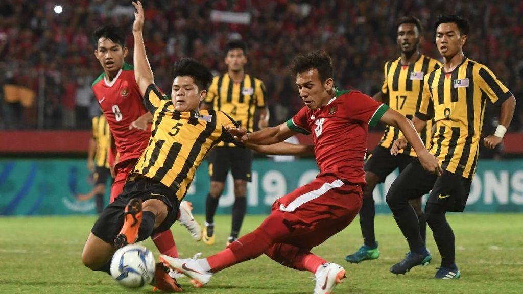 Malaysia vs Indonesia Berlanjut ke Adu Penalti