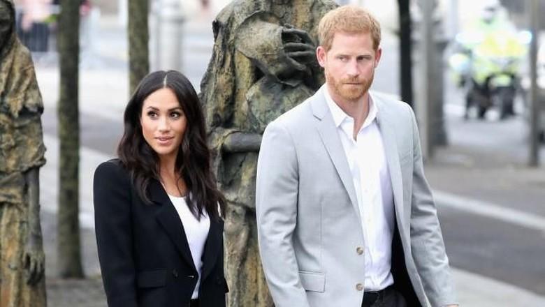 Meghan Markle dan Pangeran Harry (Foto: Getty Images)