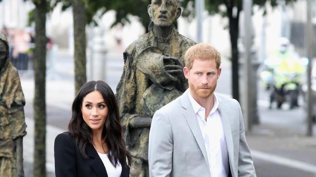 Meghan Markle Habiskan Rp 500 Jutaan untuk Baju Dalam 2 Hari di Irlandia