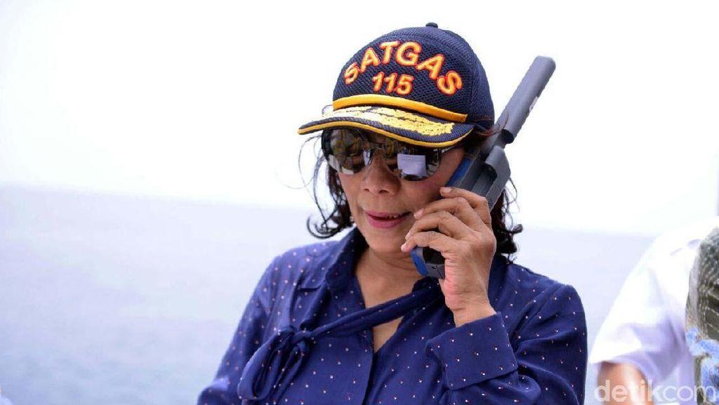 Ini Program Susi untuk Nelayan Libur Melaut karena Ombak Tinggi