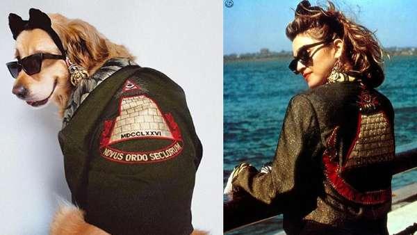 Lucu! Parodi Foto Ikonik Madonna