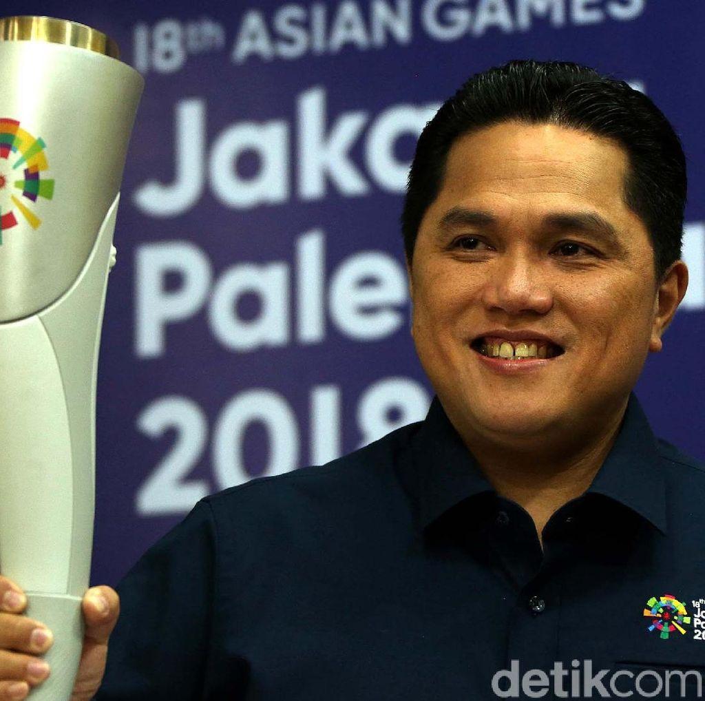 Kirab Obor Asian Games 2018 Tempuh Jarak 18 Ribu Km