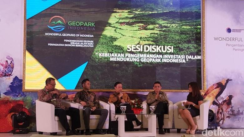 Konfrensi Nasional 1 Geopark Indonesia (Syanti/detikTravel)