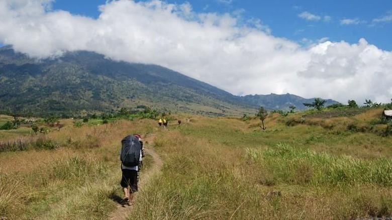 Sabana di Lombok Utara, kabupaten tempat asal Lalu Muhammad Zohri (Otong Marutong/dTraveler)