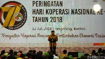 Nurdin Halid Ajak Insan Koperasi Dukung Jokowi di Pilpres 2019