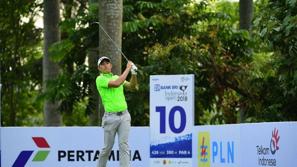 Turnamen Golf BRI Indonesia Open 2018
