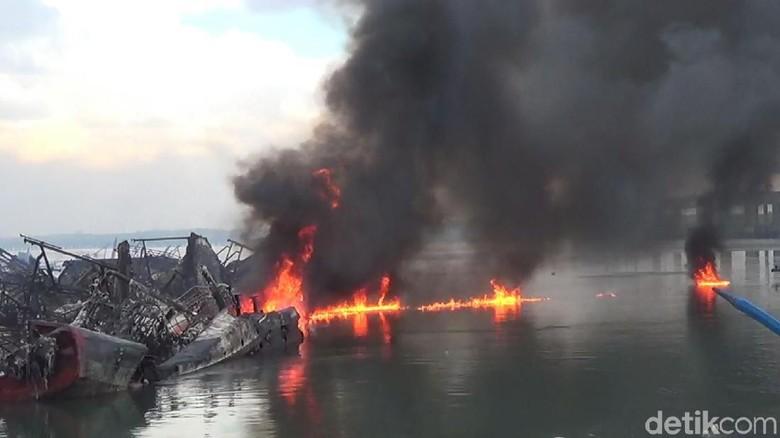 Puluhan Kapal Terbakar di Pelabuhan Benoa, Ini Hasil Investigasinya