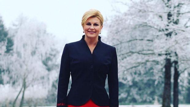 Presiden Kroasia Kolinda Grabar-Kitarović