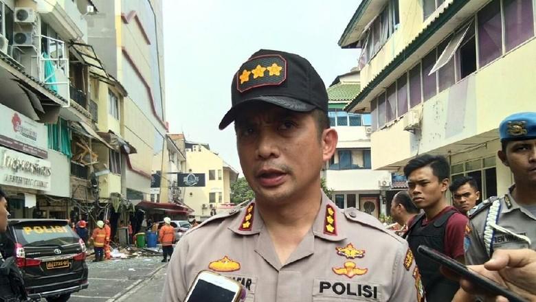 Analisis Polisi soal Ledakan Keras di Ruko Grand Wijaya