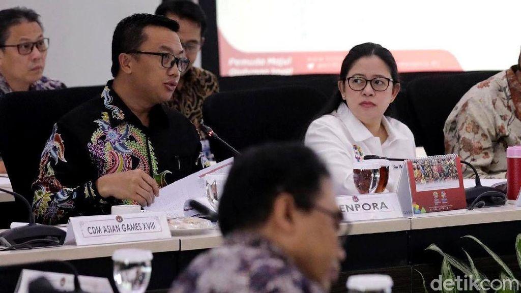Suasana Rapat Persiapan Jelang Asian Games 2018