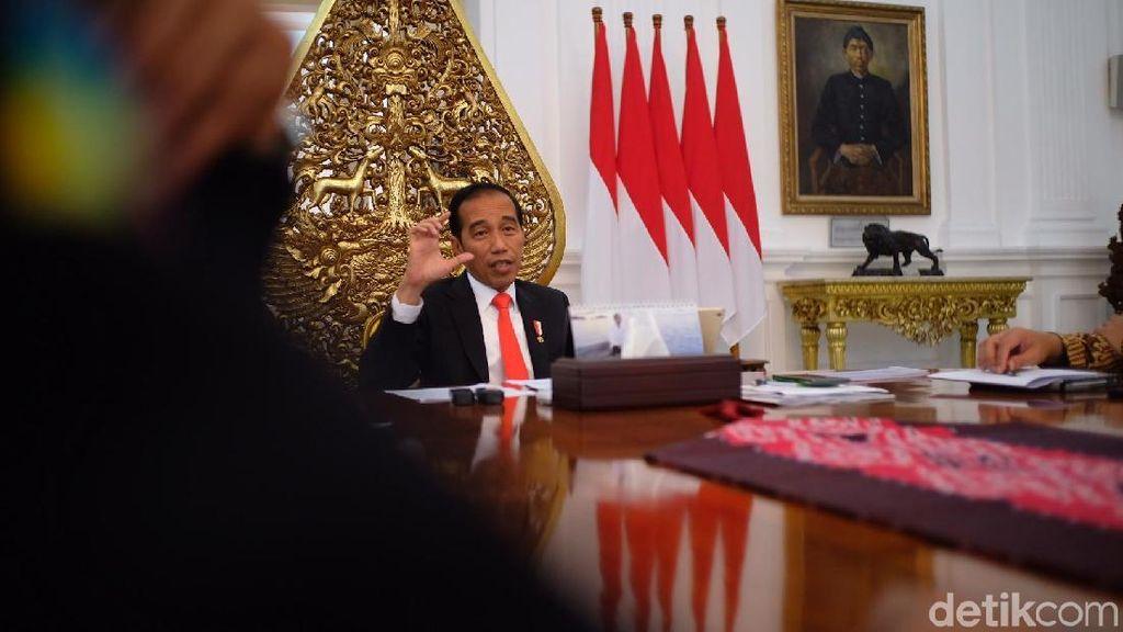 Blak blakan Jokowi soal Cawapres hingga Perang Dagang AS