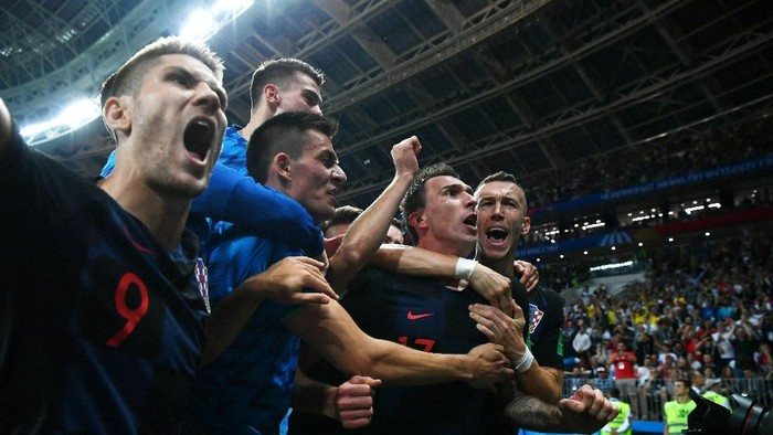 Timnas Kroasia, finalis Piala Dunia 2018, absen di game FIFA 19 karena alasan tertentu (Foto: Dan Mullan/Getty Images)
