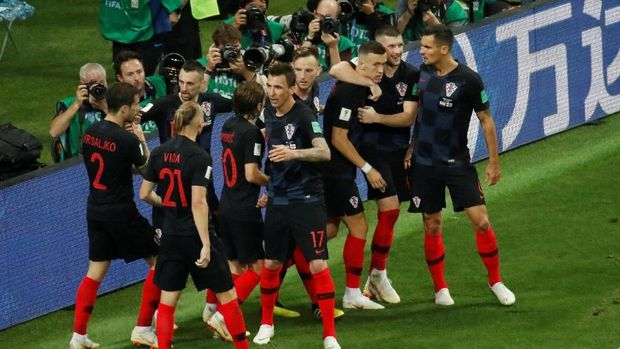 Kroasia selalu melalui babak perpanjangan waktu dalam laga yang mereka hadapi di fase gugur.