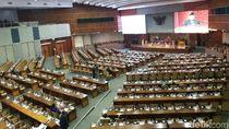 Hanya 63 Anggota DPR yang Hadiri Paripurna Pembahasan RAPBN 2019