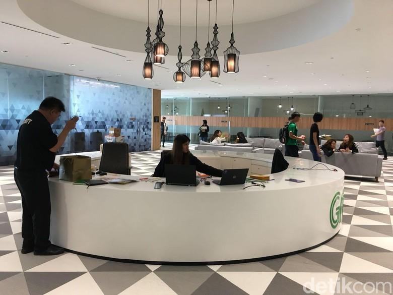 Grab memiliki tiga kantor di Singapura. Ada driver center yang beroperasi di Sing Ming, GrabPay di Cecil Street office, dan Marina One adalah kantor terbesar miliknya. Foto: detikINET/Agus Tri Haryanto