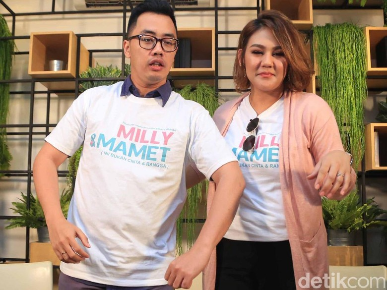 Film Milly & Mamet Ungkap Karakter Asli 2 Sahabat Cinta