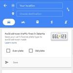 Tahu Tidak, Google Maps Bisa Pilih Jalan Sesuai Pelat Nomormu