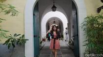Foto: Gaya Cantik Nabilah Eks JKT48 di Kota Tua Filipina