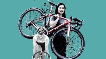 Melongok Prestasi Atlet Balap Sepeda Crismonita Lewat Infografis
