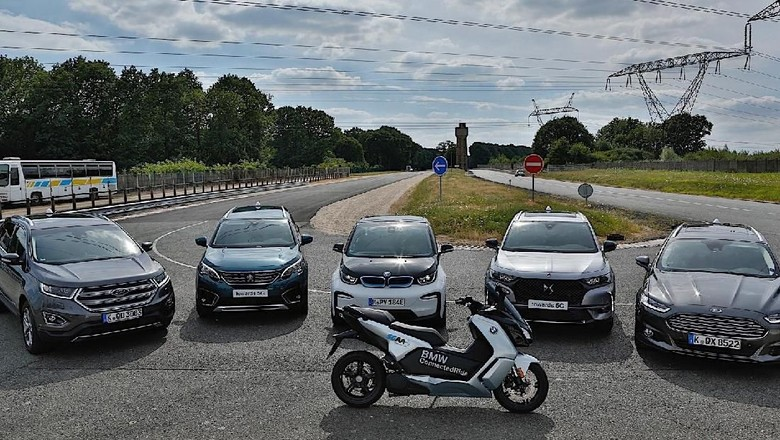 Mobil Audi, BMW, Daimler kini bisa saling bicara Foto: Pool (Autoevolution)