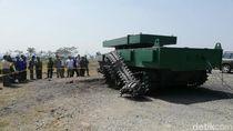 Tank Medium Buatan Pindad Kebal Kena Ledakan TNT