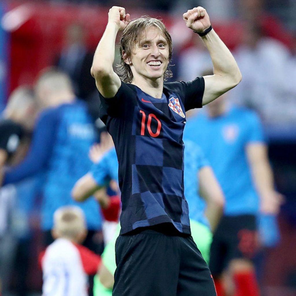 Dengan gaji mencapai Rp 3 miliar per pekan bersama Real Madrid, Luka Modric tampaknya lebih memilih untuk hidup sederhana. Foto: Instagram/lukamodric10