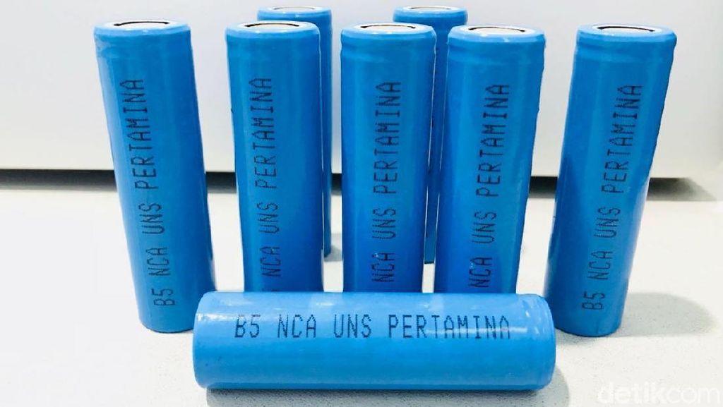 Motor Listrik Nasional Gesits Bisa Pakai Baterai Pertamina-UNS