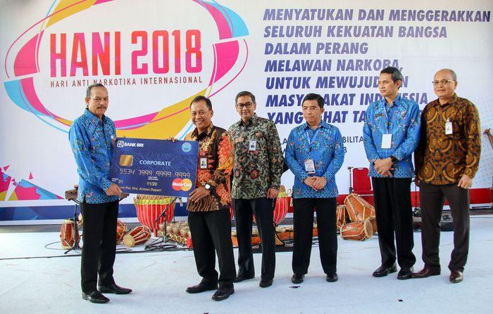 Dalam Hari Anti Narkotika Internasional yang digelar di Balai Rehabilitasi BNN Lido Sukabumi, penandatanganan kerjasama itu dilakukan. Foto: dok. BRI