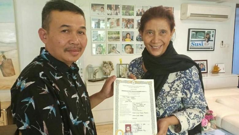 Cerita Susi: Mengejar Paket C, Berpeluang Ikut Pilpres