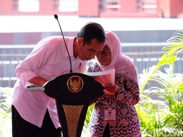 Sapa Warga Sumsel, Jokowi: Apo Kabar Wong Kito Galo?
