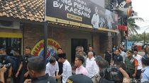 Foto: Kaesang Temani Jokowi Kunjungi Sang Pisang di Palembang