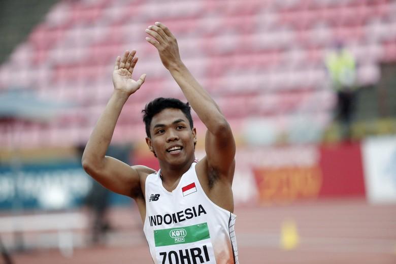 Jokowi Renovasi Rumah Lalu Muhammad Zohri, Juara Dunia Lari 100 M