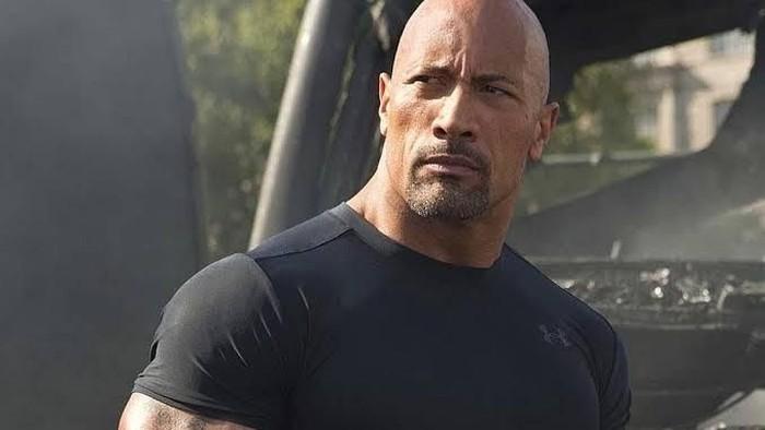Dwayne The Rock Johnson. Foto: Istimewa