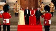 Saat Trump Disambut Karpet Merah dan Demo di London
