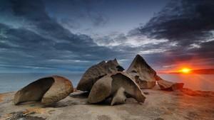Batu-batu Tak Biasa di Pulau Kanguru