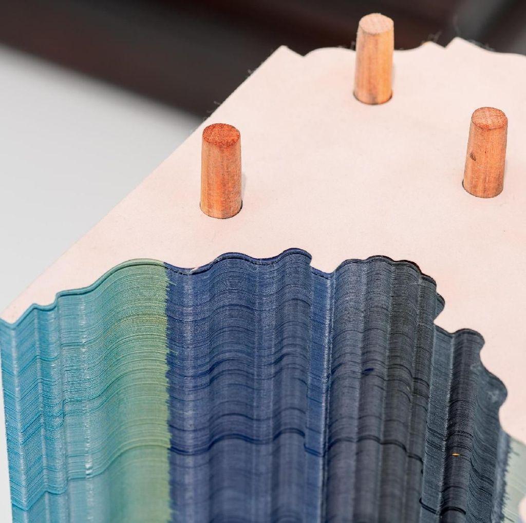 Satu Karya Seni Irfan Hendrian Bisa Habiskan 60 Ribu Lembar Kertas