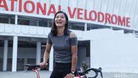 Minim Uji Coba ke Asian Games 2018, Crismonita Habis-habisan di Velodrome