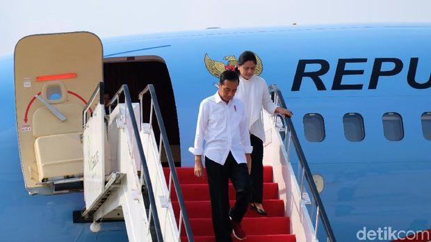 Jokowi Bagikan Sertifikat Tanah dan Tinjau LRT Palembang Hari Ini