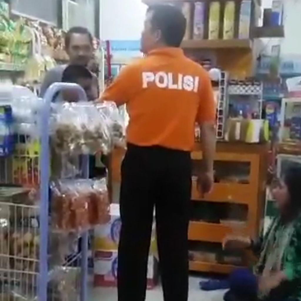 Kemarahan Kapolri Gegara AKBP Yusuf Tendang Ibu-ibu