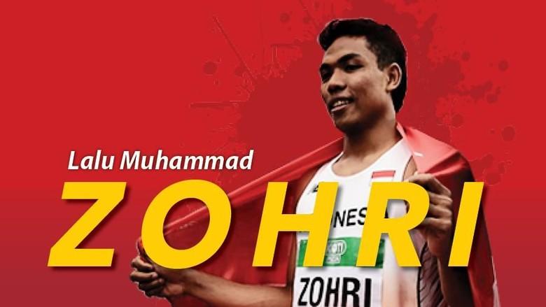Lalu M Zohri Juara Dunia Atletik U-20